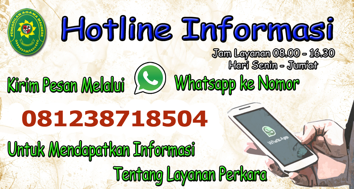 Hotline Informasi Whatsapp